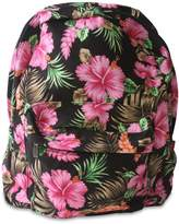 "GT Collection Tropical Floral Hibiscus 17"" Backpack"