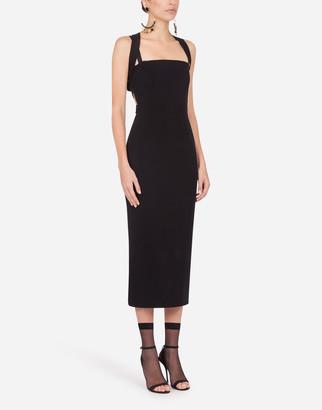 Dolce & Gabbana Longuette Jersey Dress