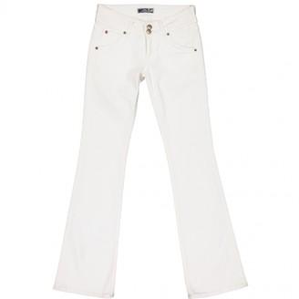 Hudson White Cotton - elasthane Jeans