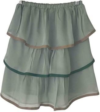 Jucca Green Silk Top for Women