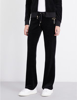 Juicy Couture Bou Robert velour jogging bottoms