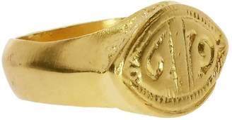Ottoman Hands Mystic Eye Gold Statement Ring