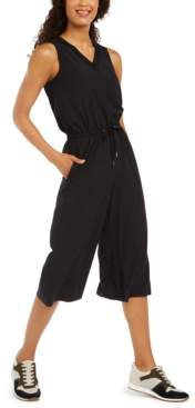Ideology V-Neck Cropped Jumpsuit, Created for Macy's