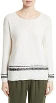 Joie Women's Stripe Cotton Blend Sweater
