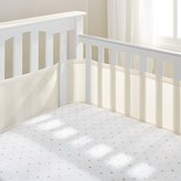 BreathableBaby Mesh Crib Liner, Ecru by