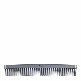 Denman Tame & Tease Styling Comb - Silver (175mm)