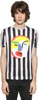 Fendi John Booth Face Patch & Stripes T-Shirt