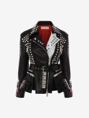 Alexander McQueen Punk Biker Jacket