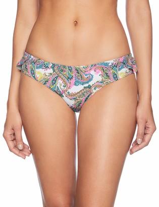 OndadeMar Women Orissa Swimwear Medium Rise Printed Bikini Bottom