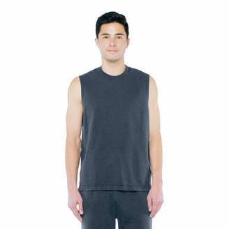 American Apparel Men's French Terry Sleeveless Muscle Tank