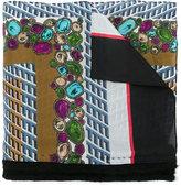Kolor jewel print scarf