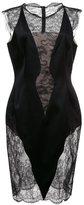 Ungaro lace short sleeves dress