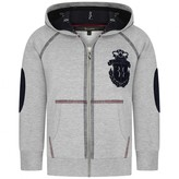 Billionaire BillionaireBoys Grey River Boy Zip Up Top