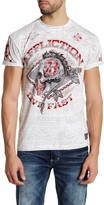 Affliction AC Warpath Short Sleeve Graphic Tee