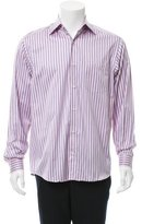 Ermenegildo Zegna Striped Button-Up Shirt