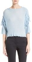Helmut Lang Women's Frayed Cashmere Top
