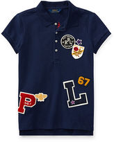 Ralph Lauren 7-16 Patch-Embellished Cotton Polo
