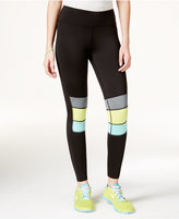 Jessica Simpson The Warm Up Juniors' Colorblocked Leggings