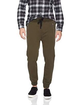 The Kooples Men's Men's Fleece Sweatpants with Distressed Details