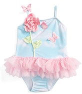 Kate Mack Infant Girl's Cloud One-Piece Tutu Swimsuit