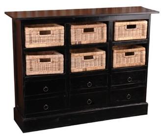 Laurel Foundry Modern Farmhouse Tompkins 6 Drawer Storage Cabinet