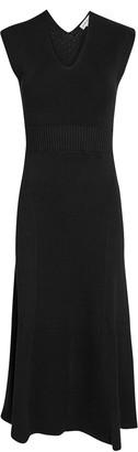 Victoria Beckham Sleeveless Knit Midi Dress