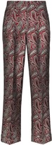 Golden Goose Sally paisley-print straight-leg trousers