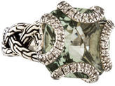 John Hardy Prasiolite Classic Chain Ring