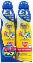Banana Boat Kids Ultra-Mist Sunscreen Free SPF 50