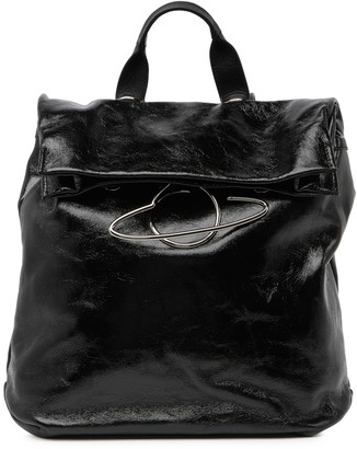 Vivienne Westwood Oxford Patent Leather Backpack