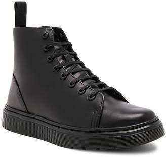 Dr. Martens Talib 8 Eye Leather Boots in Black | FWRD