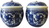 One Kings Lane Vintage Porcelain Ginger Jars