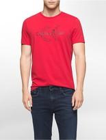 Calvin Klein Slim Fit Marble Logo T-Shirt