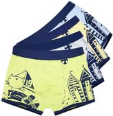 JIEYA Baby Boys Cotton Underwear Kids Cartoon Printed Boy short,pack of 2 or 4