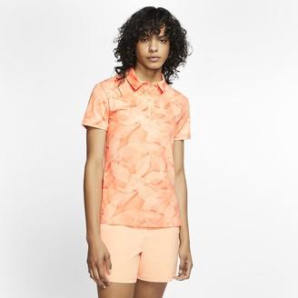 Nike Women's Printed Golf Polo Dri-FIT UV