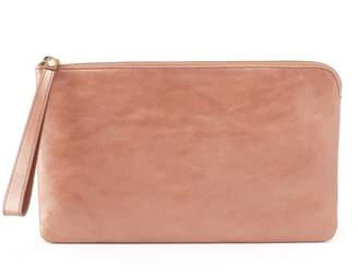 Hobo Wayfare Leather Wristlet Clutch
