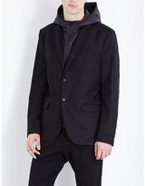 The Kooples Fitted Wool-blend Jacket