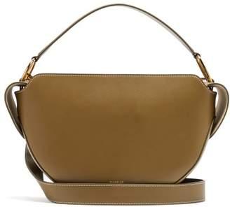 Wandler Yara Leather Bag - Womens - Khaki
