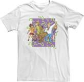 Scooby-Doo Licensed Character Men's Mystery Gang Confused Portrait Tee