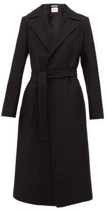 Pallas X Claire Thomson Jonville X Claire Thomson-jonville - Franklin Single Breasted Wool Blend Coat - Womens - Black