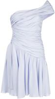 Giambattista Valli ruched style asymmetric dress