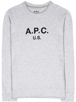A.P.C. Cotton-jersey sweater