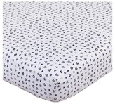 NoJo Fitted Crib Sheet - XOXO