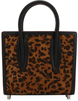 Christian Louboutin Paloma Mini Leopard Print Top Handle Bag