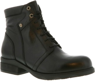 Wolky Lace-Up Leather Boots - Center WP