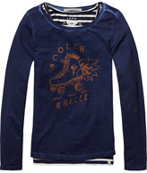 Scotch & Soda 2-in-1 Cold Dyed T-Shirt