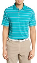 Bobby Jones Men's 'Xh20 - Stripe' Stretch Golf Polo