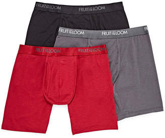 Fruit of the Loom 3-pk Luxe Modal Boxer Briefs