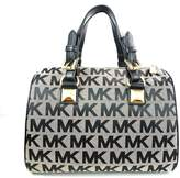 Michael Kors MD Grayson Satchel Handbag Signature
