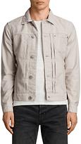 AllSaints Singel Denim Jacket, Khaki